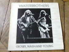CROSBY NASH & NEIL YOUNG Waterbrothers LP Live in 73