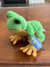 """NWT Webkinz Original FULL SIZE Retired Tree Frog New With Code 11"""""""