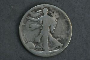 1921 50C Walking Liberty Silver Half Dollar Early US Type Coin Key Date