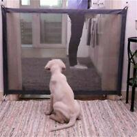Retractable Pet Puppy Cat Gate Folding Safe Guard Pet Safe Isolation Fence Net