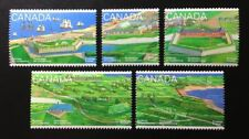 Canada #1547-1551 MNH, Fortress of Louisbourg Set of Stamps 1995