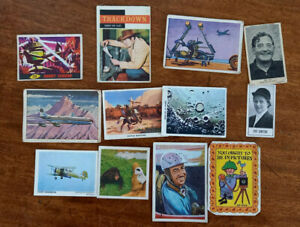 BARRATT , NABISCO, COMO , A & BC , CARDMASTER , WEETABIX ,  TRADE CARDS