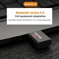 PC-T7 USB Wireless Bluetooth 5.0 Audio Transmitter Adapter for Windows Linux PC