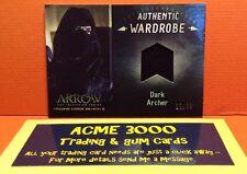 Cryptozoic Arrow Season 3 - Wardrobe Card DARK ARCHER - John Barrowman M08 22/99