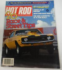 Hot Rod Magazine Zl-1 Camaro Test March 1983 080614R