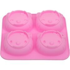 Silicone Cake Mold DIY Hello Kitty Mouse Chocolate Mold 4 Cavities Baking Pan