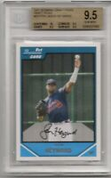 2007 BOWMAN CHROME DRAFT PICKS JASON HEYWARD *BGS 9.5 GEM* ROOKIE CARD, #BDPP54