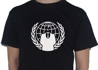 Anonymous T-Shirt - Anti Government Vendetta Guy Fawkes Hacker Top My Cup Of Tee