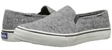 Keds Double Decker Quilted Charcoal Slip-on Sneaker Size 6.5 EU 37