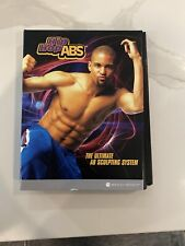 BeachBody Shaun T Hip Hop Abs The Ultimate Sculpting System 3 DVDs & Guidebooks