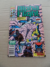 Alpha Flight 88 . SIGNED . Marvel 1990 .  VF