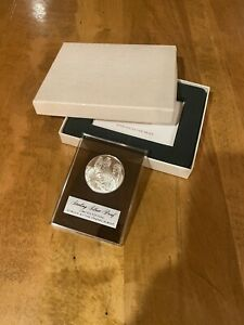 LIMITED ED 1972 STERLING SILVER PROOF STRUCK AT THE FRANKLIN MINT In the box