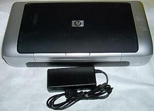 HP Deskjet 460 Portable Laptop Printer c8150a complete with ink & working!