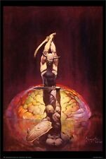 FRANK FRAZETTA ~ THE BRAIN ~ 24x36 FANTASY ART POSTER NEW/ROLLED!