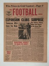 1967 The Football News 9/16/1967 John Stofa