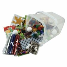 Creation Station Bumper Bucket of Christmas Crafts , Pack of Assortment