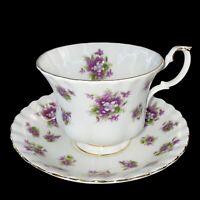 Vintage Royal Albert Bone China Sweet Violets England