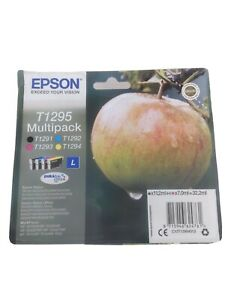 Epson C13T12954012 T1295 Ink Cartridges - Black/Cyan/Magenta/Yellow