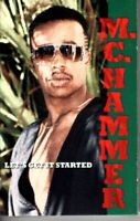 MC Hammer Lets Get It Started 1988 Cassette Tape Album Rap Hiphop