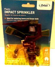 Orbit Threaded Impact Adjustable Irrigation Sprinkler Head 40' Coverage New