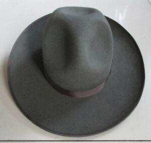 Israel Jewish Hat Wool Hasidic Jews Wide Brim Fedora Cap Grey