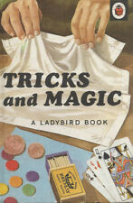 LADYBIRD BOOK TRICKS AND MAGIC - James Webster HARDCOVER Series 633 1969 1st Ed.