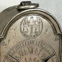 Vintage MANTEL CLOCK Post Nubila Phoebus - Copernicus Heliocentric SOLAR SYSTEM