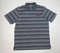 NEW Adidas Puremotion Short Sleeve Golf Polo Shirt Size Large Gray White