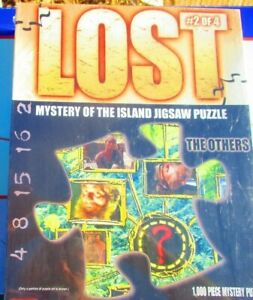 🔥 Lost Mystery of the Island Mystery Jigsaw Puzzle #2 The Others WRAPPED 🔥