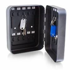 BITUXX® Mini Schlüsselkasten Schlüsseltresor Schlüsselschrank 20 Schlüsselhaken