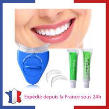 Kit de Blanchiment Pour  Dents Blanches sans Peroxyde Gel Lumière Soin Dentaire