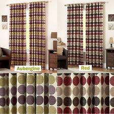роскошные Капри круг дизайн полностью на подкладке шторы в 2 цветах и 6 размеров