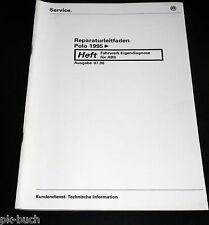 Werkstatthandbuch VW Polo 6N Fahrwerk Eigendiagnose für ABS ab 1995