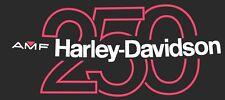 1977 BLACK Harley Davidson SX 250 Tank Decal Stripes SS MX Sprint Baja 77 78 79