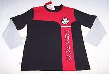 Holden Logo Boys Red Black Long Sleeve T Shirt Size 8 New