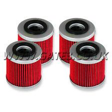 4 X Husqvarna TE410E TE 410 1998-2001 HI-Flo Premium Oil Filters HF154