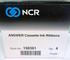 NCR Answer Cassette Ink Ribbons Quantity 3 Stock No. 198381 New NIP