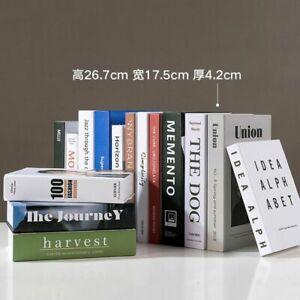 Home Decor DetachableStudy Room Decorations Fake Books Fashion Book Box
