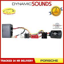 CTSPO003.2 Steering Wheel Stalk Control Adaptor For Porsche Cayenne (2002-2007)