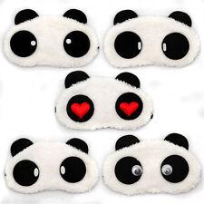 Panda SCHLAFMASKE Augenbinde Schlafbrille Reisemaske Maske Entspannung NEU&OVP