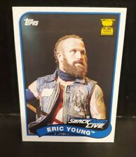 Topps WWE Heritage All Star Rookie Smackdown Eric Young #99 Card