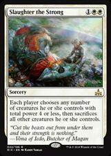 MTG Magic - (R) Rivals of Ixalan - Slaughter the Strong Prerelease FOIL - NM/M