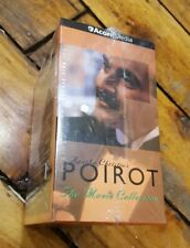 Agatha Christie's Poirot: The Movie Collection (VHS, 2001) PBS David Suchet NEW