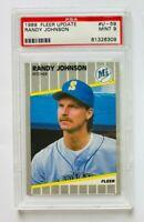1989 Fleer Update Randy Johnson Card #U-59, Mint 9, Mariners Rookie!