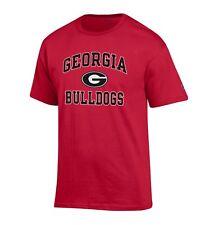 NCAA Georgia Bulldogs Men's Champion Classic Graphic T-Shirt Tee, Small, Red