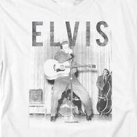 Elvis Presley T-shirt retro 50's distressed photo classic rock & roll tee ELV804