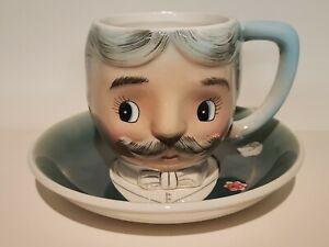 PY Anthropomorphic Teacup Gay Fab Vintage Man