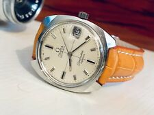 OMEGA Vintage 1967 Mens Seamaster Cosmic Crosshair Automatic Watch CAL 565 + Box