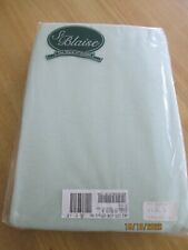 DOUBLE St.BLAISE FITTED SHEET MINT GREEN