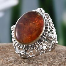 Genuine Fire Opal Statement Ring (Size 8.0) TGW 5.000 cts.